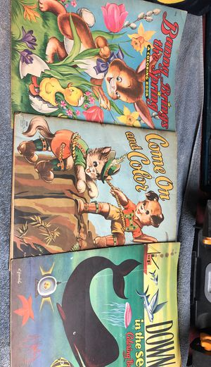 1940's Vintage color books for Sale in Aberdeen, WA
