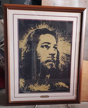 Cross Stitch picture of Jesus for Sale in Hudson, FL