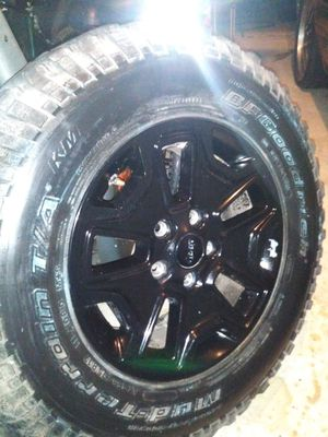Jeep Wrangler Wheels for Sale in Houston, TX