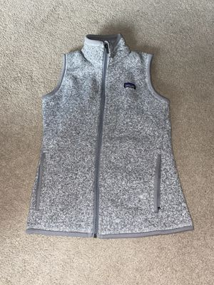 Patagonia better sweater women XS grey vest for Sale in Portland, OR