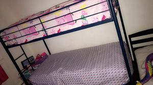 Twin bunk bed frame for Sale in Egg Harbor City, NJ