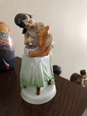 Royal Doulton childhood days figurine for Sale in Roy, WA