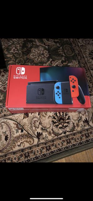 Nintendo Switch Neon Red and Neon Blue Joy-Cons for Sale in Paterson, NJ