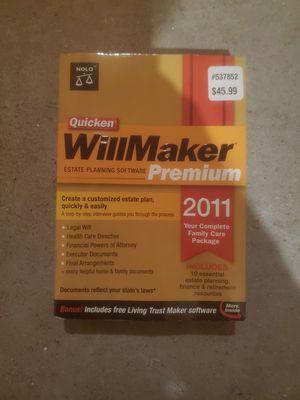 Willmaker program for PC for Sale in Scottsdale, AZ