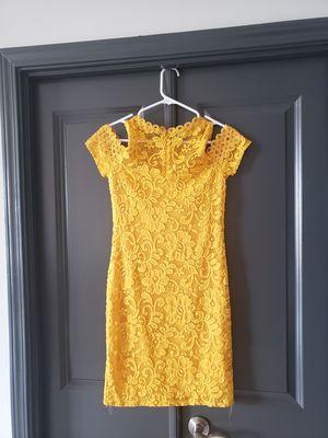 Yellow Women's Dress Size 4 for Sale in Atlanta, GA