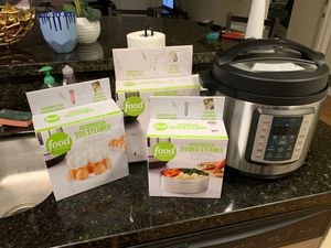 Insignia Instant Pot + Food Network Pressure Cooker Add Ons for Sale in Lubbock, TX