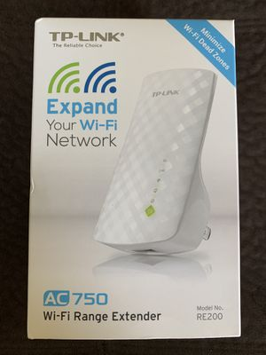 Wireless Extender TP Link AC750 for Sale in Malden, MA