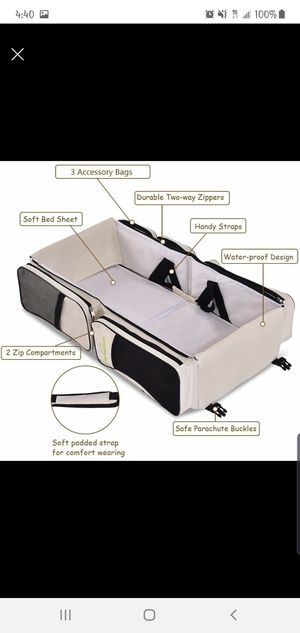 Portable Baby Bassinet, Diaper Bag, Changing Table. for Sale in Phillips Ranch, CA