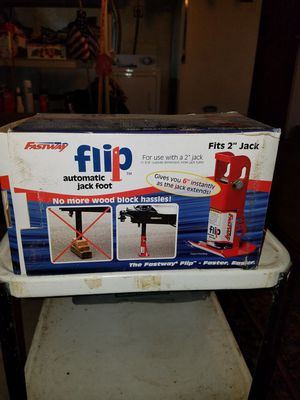 Flip automatic jack foot for Sale in Kinsman, OH