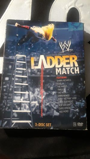 WWE LADDER MATCH DVD for Sale in Tampa, FL