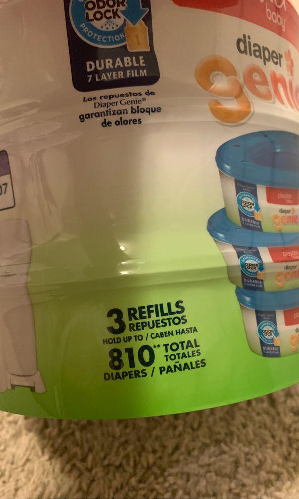 Diaper Genie 3-pack Refills