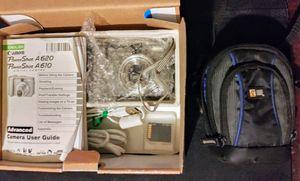 Canon PowerShot A620 Digital Camera, Accessories & Carrying Case for Sale in El Cajon, CA