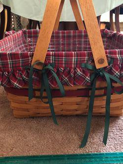 Larger Longaberger Basket With Liner for Sale in Alexandria,  VA