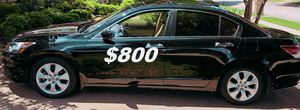 $8OO URGENT I'm selling my family's car 2OO9 Honda Accord Sedan Runs and drives great! Clean title!!! for Sale in Madison, WI