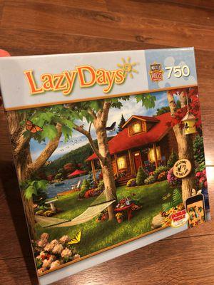 Lazy days puZzle - by masterpieces - 750 pieces - free bonus puzzle for Sale in AZ, US