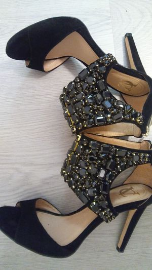Vero Cuoio Blk Suede Women Shoes Size 6 M for Sale in West Palm Beach, FL
