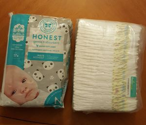 Diapers HUGGIES & pampers size nb for Sale in Newcastle, WA