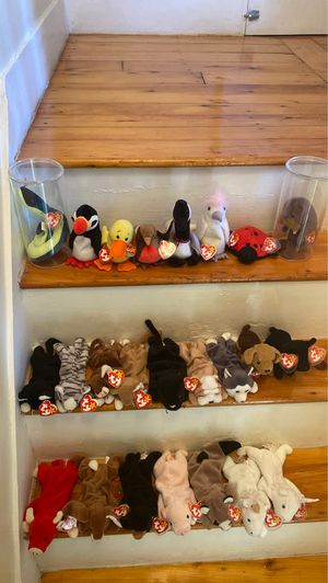 Lot of very rare TY beanie babies for Sale in Woburn, MA