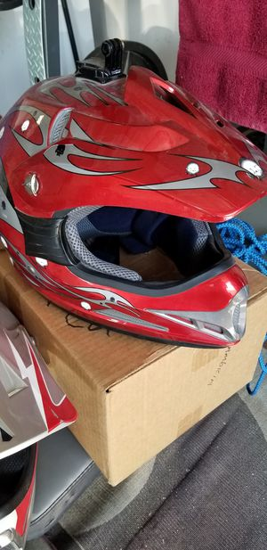 Dirt bike and motorcycle helmets for Sale in Henderson, NV