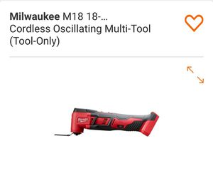 Brand new Milwaukee multi tool 18v ( Tool Only) for Sale in Auburn, WA
