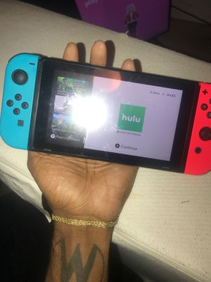 Nintendo Switch + Game (Cash Only) for Sale in Fairburn, GA