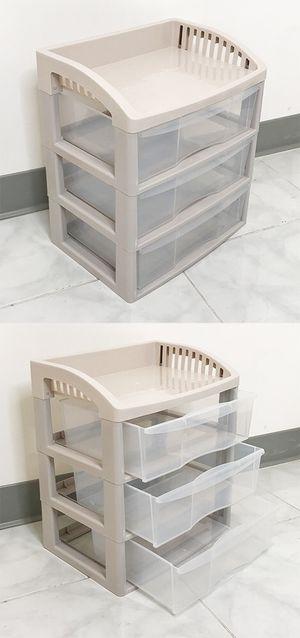 "New $15 each 3-Tier Plastic Desk Organizer Tray Drawer for Home Office Paper, 14x10x16"" for Sale in Pico Rivera, CA"