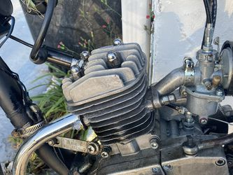 Parts 50 Cc Motorized Bike Black On Black Publisher for Sale in Port Richey,  FL