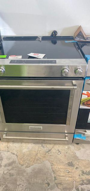 Kitchen aid KSEG700ESS electric stove ☺️☺️☺️ GR9JP for Sale in San Antonio, TX