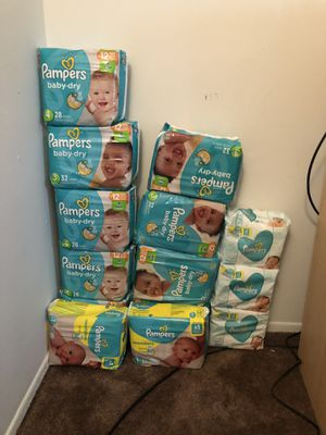 Pampers for Sale in Brownstown Charter Township, MI