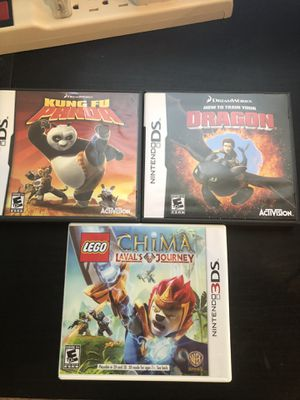Nintendo games ds/3ds for Sale in Reedley, CA