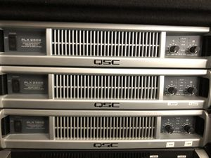 Qsc amp for Sale in Colfax, NC
