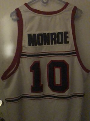 Earl Monroe Winston Salem State University Jersey for Sale for sale  Virginia Beach, VA