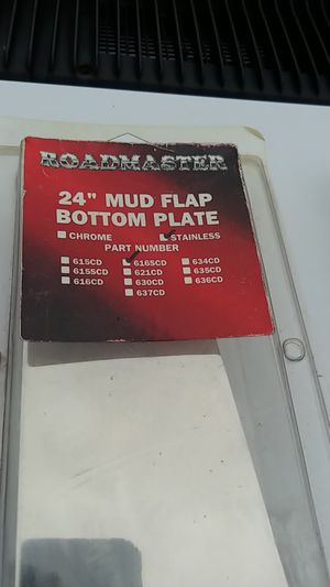 Semi mudflap bottom plate for Sale in Columbus, OH