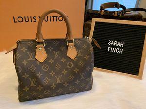 Authentic Louis Vuitton Speedy 25 for Sale in Washougal, WA
