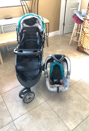 Stroller And Car Seat for Sale in Hatton, WA