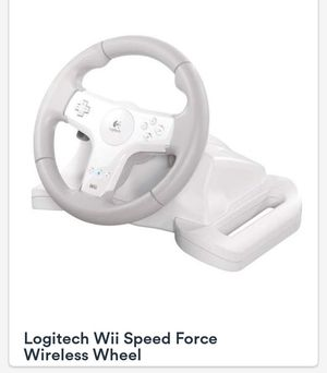 Wii Speed Force Wheel for Sale in San Antonio, TX