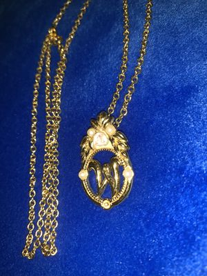 W initial Necklace for Sale in Kissimmee, FL