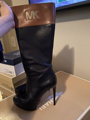 MK leather boots for Sale in Dallas, TX