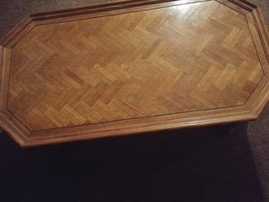 Antique Wood Coffee Table for Sale in Cleveland, OH