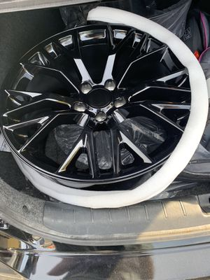 "C7 Z06 Corvette 19 inch ""REAR ONLY""Gloss Black Rims with OEM TPMS Sensors Included- $420 FIRM/ **WILL NOT RESPOND TO OFFERS for Sale in The Bronx, NY"