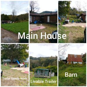 House and 2 mobile homes on 2.52 acres for Sale in Buckhannon, WV