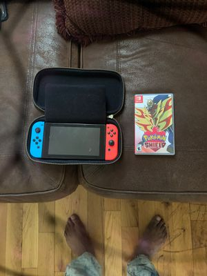 Nintendo Switch with Pokémon shield for Sale in Chicago, IL
