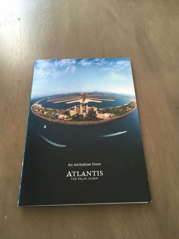 6 night stay at Atlantis, The Palms in Dubai