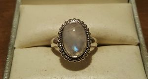 925 Sterling Silver Moonstone Beaded Ring. for Sale in Pawtucket, RI