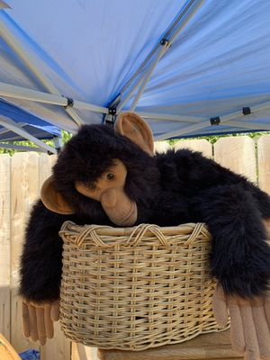 Monkey in basket for Sale in Exeter, CA