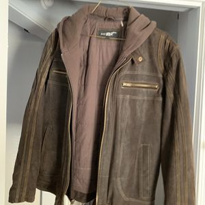 Black Rivet Brown Suede Jacket for Sale in Oklahoma City, OK