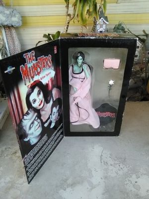 The Munsters Lily Munster Action Figure Doll (Special 40th Anniversary Edition) New. L@@K!!! for Sale in Mesa, AZ