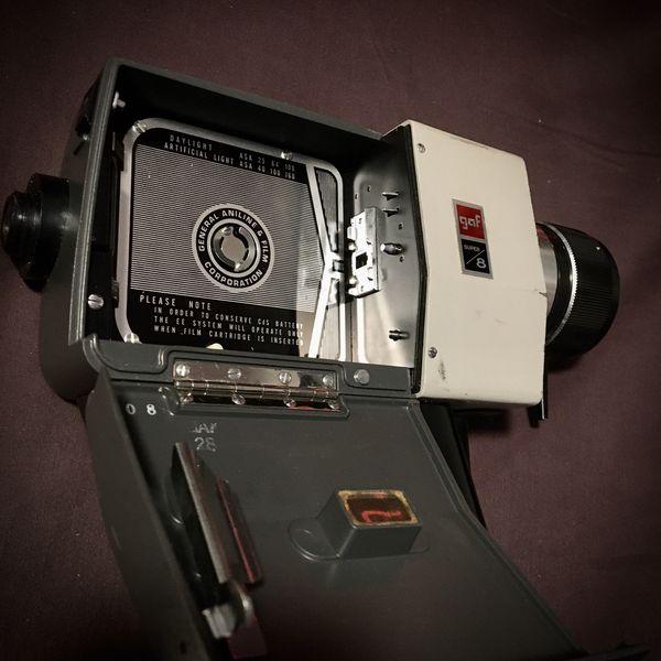 GAF Anscomatic ST/84 Super 8 VINTAGE 60s Handheld Video Camera