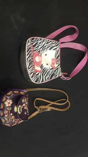 Handmade Mexican purse and free Hello Kitty purse for Sale in Lakewood, CO