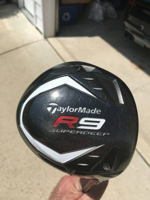 Taylormade super deep R9 driver 10.5 degrees firm shaft for Sale in Fairfax, VA